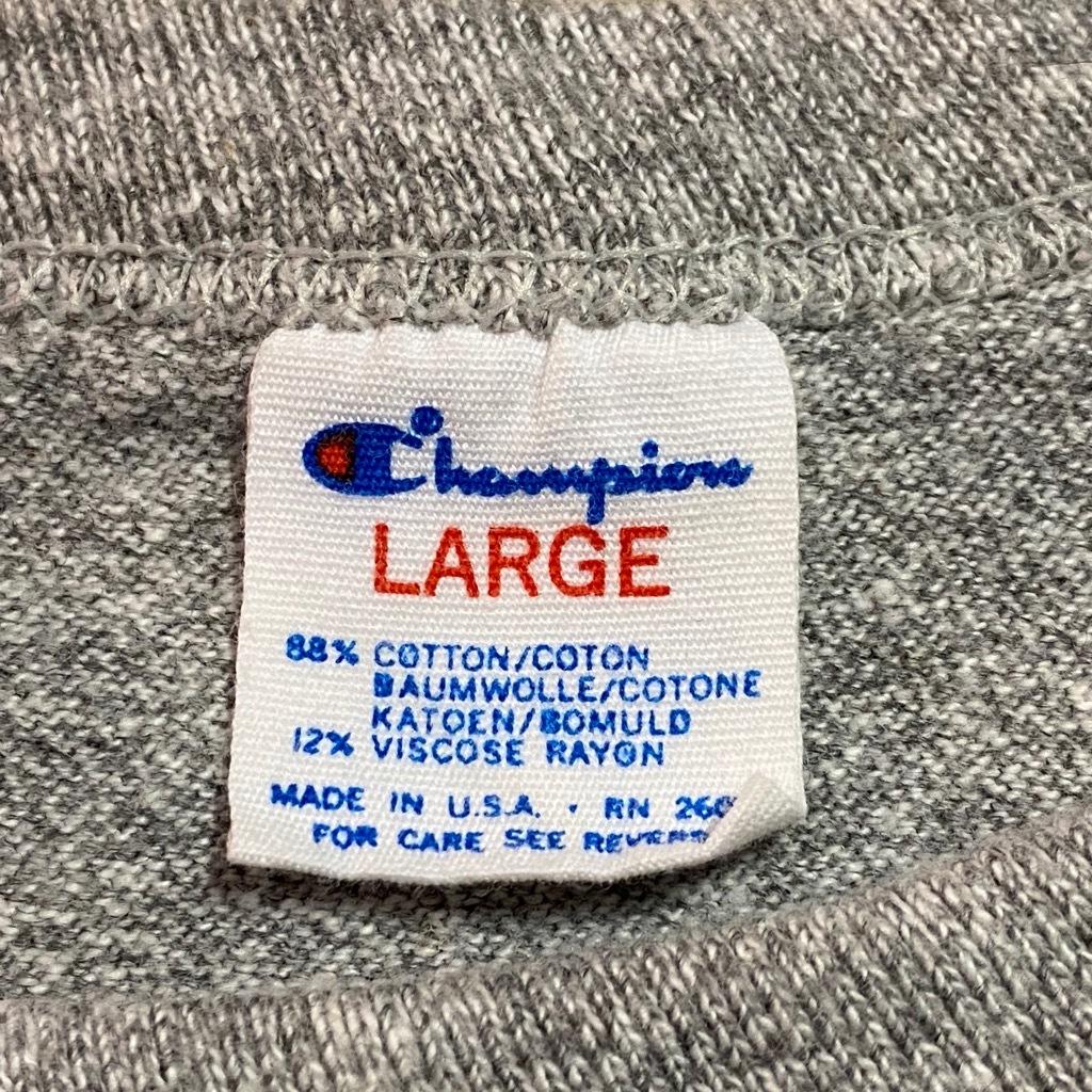 マグネッツ神戸店5/2(土)ONLINE限定スーペリア入荷! #5 Champion T-Shirt!!!_c0078587_13420100.jpg