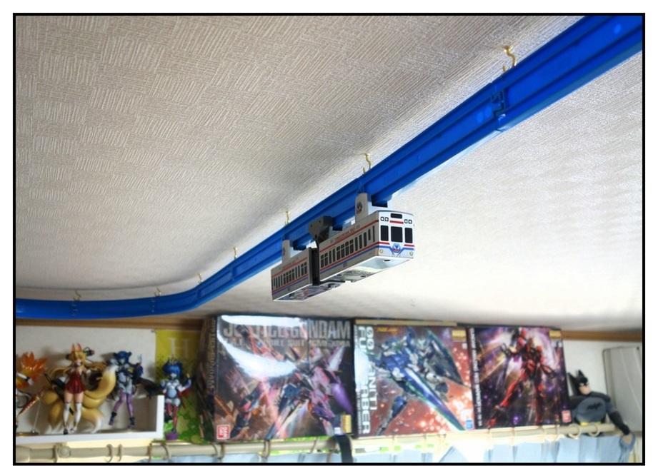 自室の天井にモノレールを走らせる男②(完結編)_f0205396_21071780.jpg