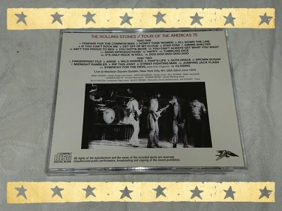 THE ROLLING STONES / MADISON SQUARE GARDEN 1975 1ST NIGHT_b0042308_18352435.jpg