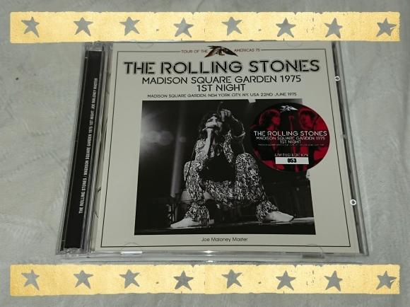 THE ROLLING STONES / MADISON SQUARE GARDEN 1975 1ST NIGHT_b0042308_18352521.jpg