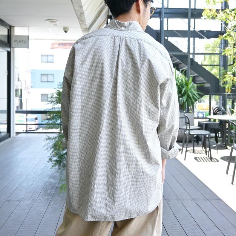 nisica / ボタンダウンシャツ_e0412413_16402411.jpg