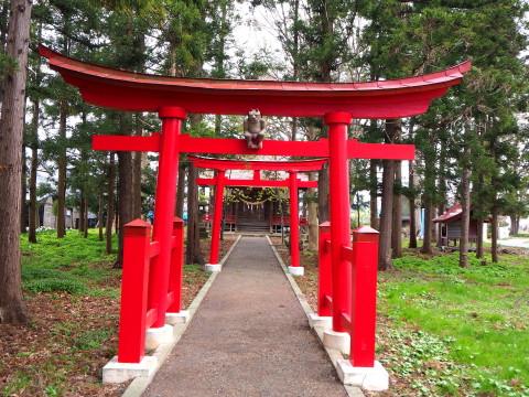 稲荷神社(板柳町)*津軽ジェンヌの鬼コ巡り(3)_b0147224_11542325.jpg