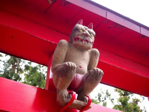 稲荷神社(板柳町)*津軽ジェンヌの鬼コ巡り(3)_b0147224_11575647.jpg