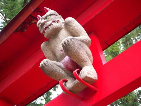 稲荷神社(板柳町)*津軽ジェンヌの鬼コ巡り(3)_b0147224_11581852.jpg
