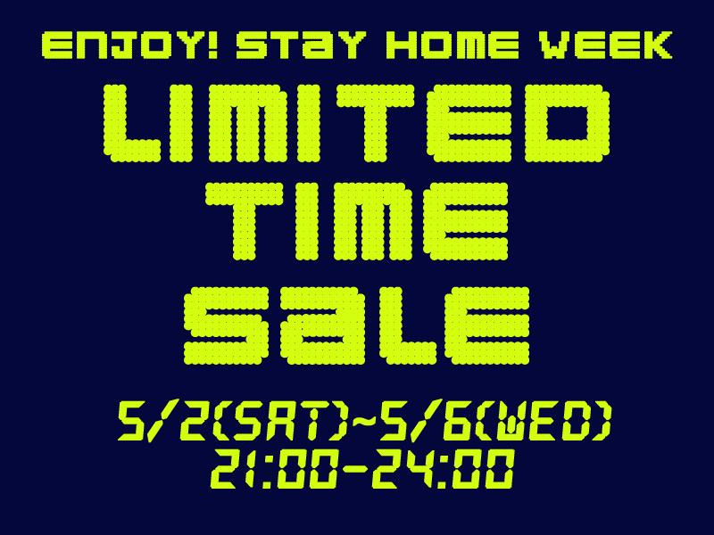 【Online Store限定】タイム*セール開催!_e0167832_14391879.jpg