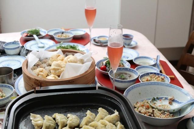 炒飯と餃子と焼売と!_d0377645_23200385.jpg