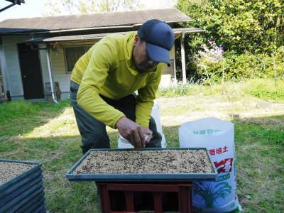 米作りの挑戦(2020年) 昨年より1週間早く苗床を作りました!(前編:米作りに取り組むわけとこの地の環境)_a0254656_19022264.jpg