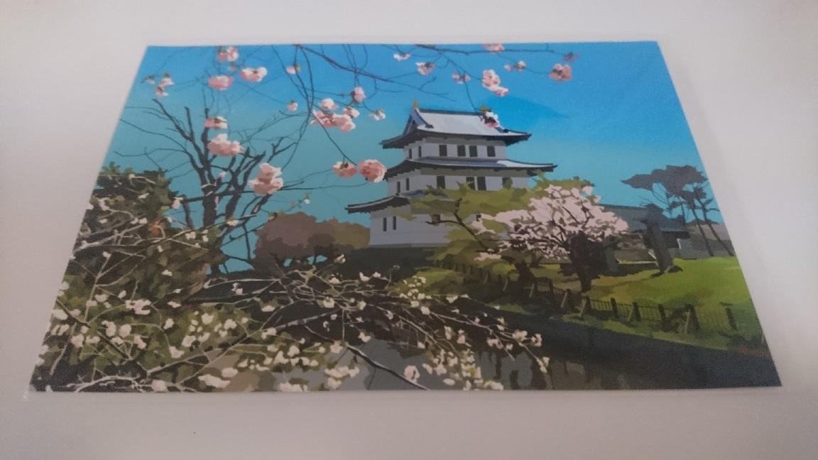 函館観光絵はがき桜シリーズ_b0106766_20395798.jpg