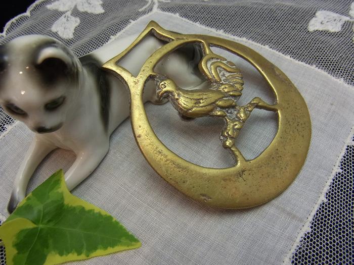 真鍮の馬具飾り_d0127182_16361416.jpg