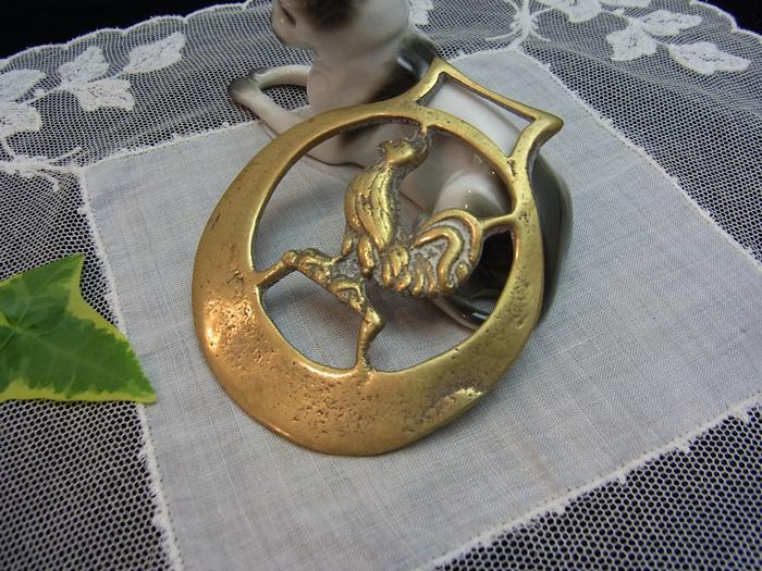 真鍮の馬具飾り_d0127182_16361750.jpg
