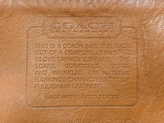 マグネッツ神戸店5/2(土)ONLINE限定スーペリア入荷! #9 COACH Leather Bag!!!_c0078587_16462652.jpeg