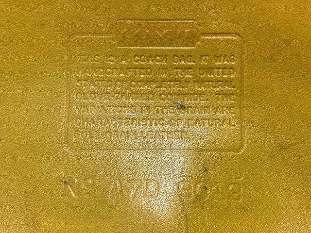 マグネッツ神戸店5/2(土)ONLINE限定スーペリア入荷! #9 COACH Leather Bag!!!_c0078587_16493980.jpeg