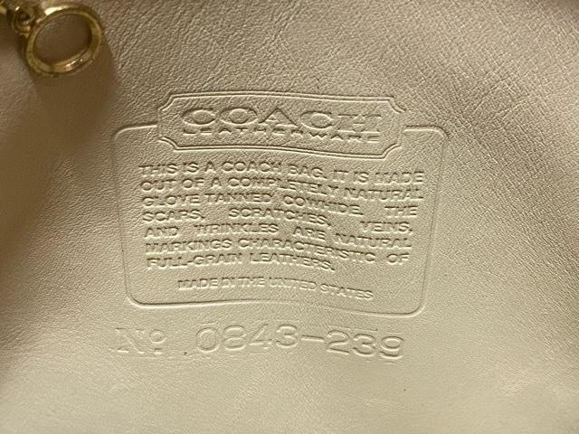マグネッツ神戸店5/2(土)ONLINE限定スーペリア入荷! #9 COACH Leather Bag!!!_c0078587_17001568.jpeg