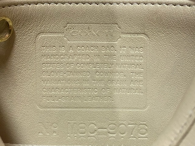 マグネッツ神戸店5/2(土)ONLINE限定スーペリア入荷! #9 COACH Leather Bag!!!_c0078587_17051255.jpeg