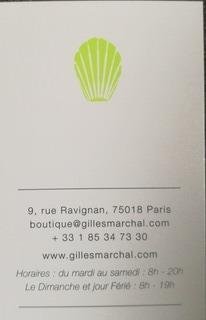 オリジナリティ溢れるフォルムにシンプルで洗練された味☆「Gilles Marchal Paris」_f0391490_21012359.jpg
