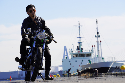山本 真太郎 & kawasaki 250TR(2019.11.23/NAGOYA)_f0203027_18043624.jpg