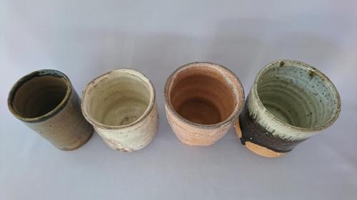 「土の器 5/2 湯呑」_f0144646_15390418.jpg