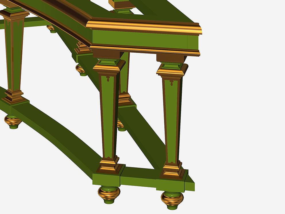 フレミッシュ・チェンバロの装飾スタンド#2_e0064847_18243319.jpg