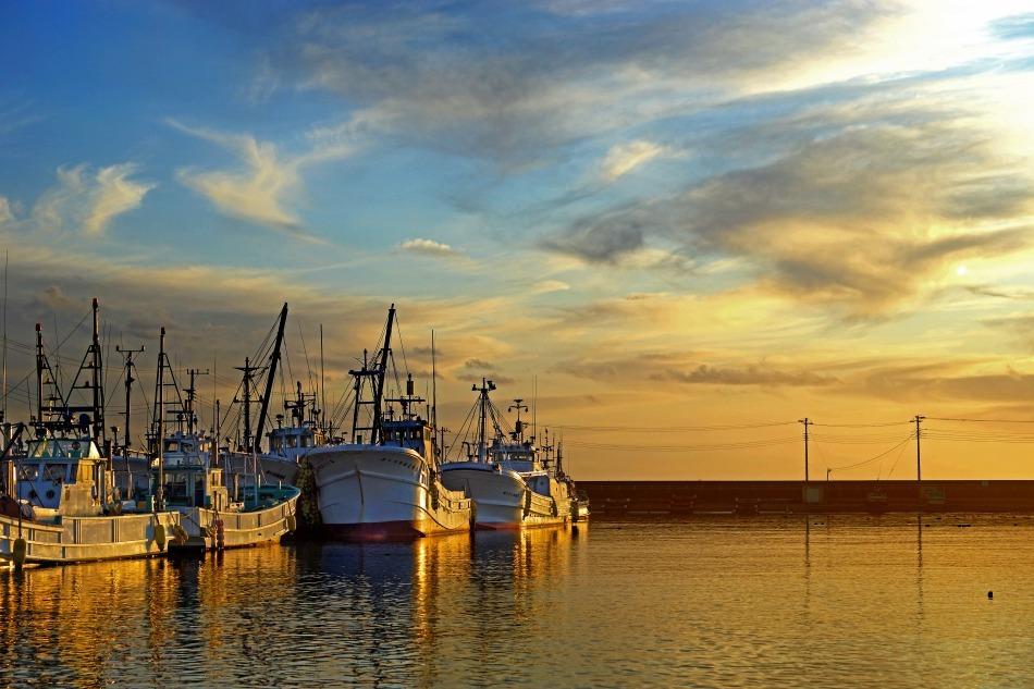 夕暮れの漁港   2020-05-22 更新_e0229455_13235870.jpg