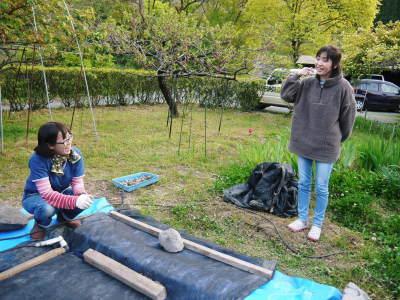 米作りの挑戦(2020年) 昨年より1週間早く苗床を作りました!(前編:温湯消毒から苗床完成まで)_a0254656_18394010.jpg