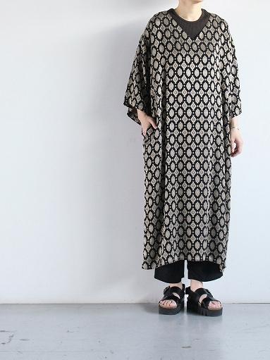 Needles  V Neck Dress - Cu/Ac Jacquard / Fine Pattern_b0139281_11233795.jpg