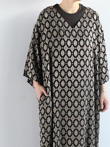 Needles  V Neck Dress - Cu/Ac Jacquard / Fine Pattern_b0139281_11245643.jpg