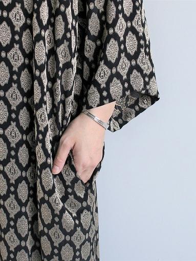 Needles  V Neck Dress - Cu/Ac Jacquard / Fine Pattern_b0139281_11253741.jpg