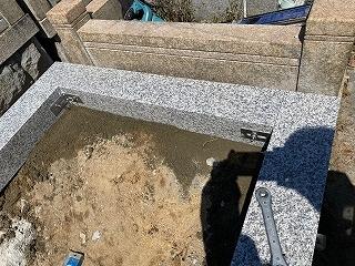 ◇国産墓石建立◇_e0363711_09090731.jpg