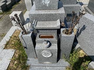 ◇お掃除代行(西神墓園)◇_e0363711_11495402.jpg