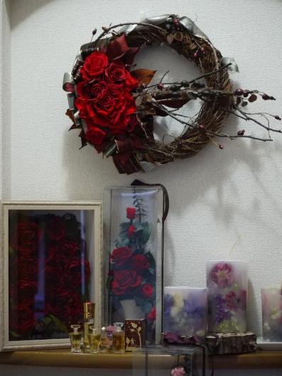 母の日プレゼント・リース&スワッグ_a0123133_23040529.jpg