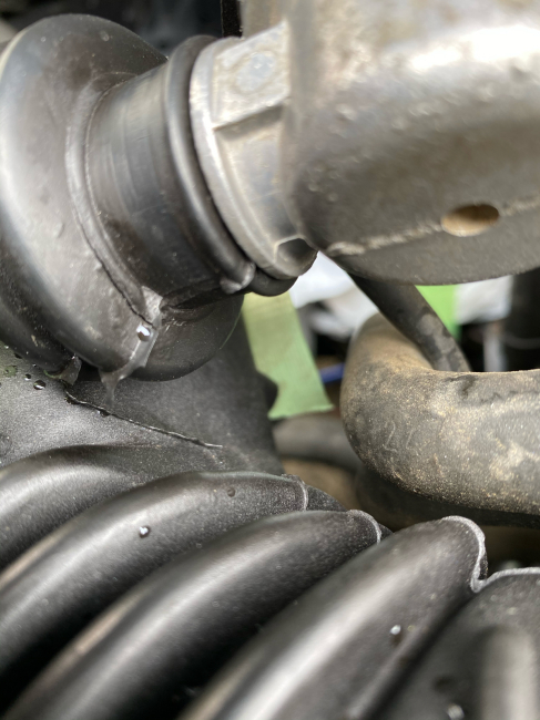 BMW E30エンジンルーム掃除2回目_f0115152_20452262.jpg