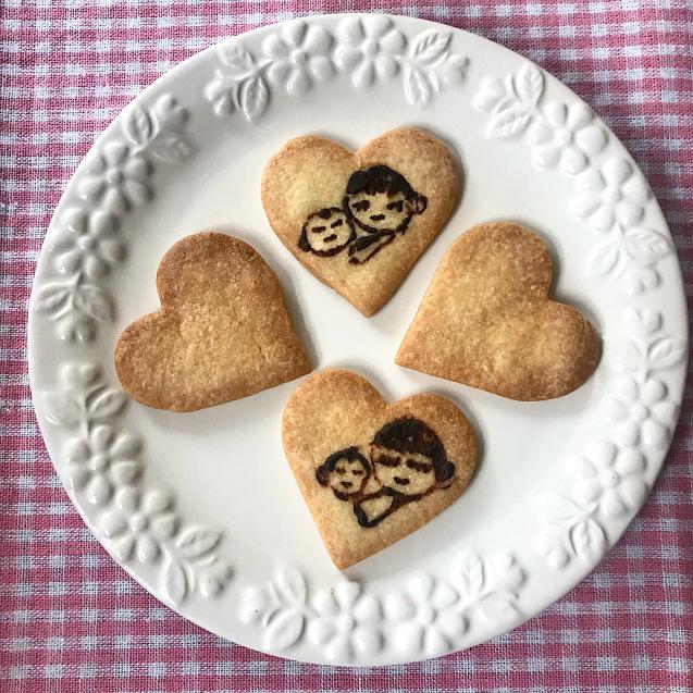 プレママ応援プリントクッキー to アベノマスク♡_e0141159_12385692.jpeg