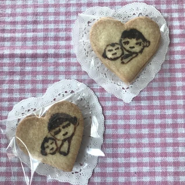 プレママ応援プリントクッキー to アベノマスク♡_e0141159_12391152.jpeg