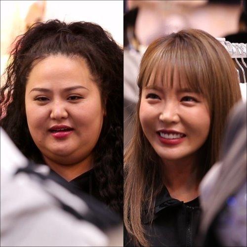 人気美人歌手 ホン・ジニョン 鼻整形し過ぎ?顔の変遷史 一緒に住んでるお姉さん登場! 頬骨削り _f0158064_23513948.jpg