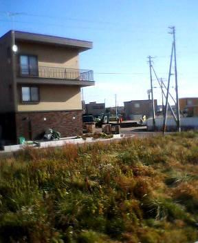 16年前は、函館陵北高校学校祭の花火大会が見えたなあ。_b0106766_14454794.jpg