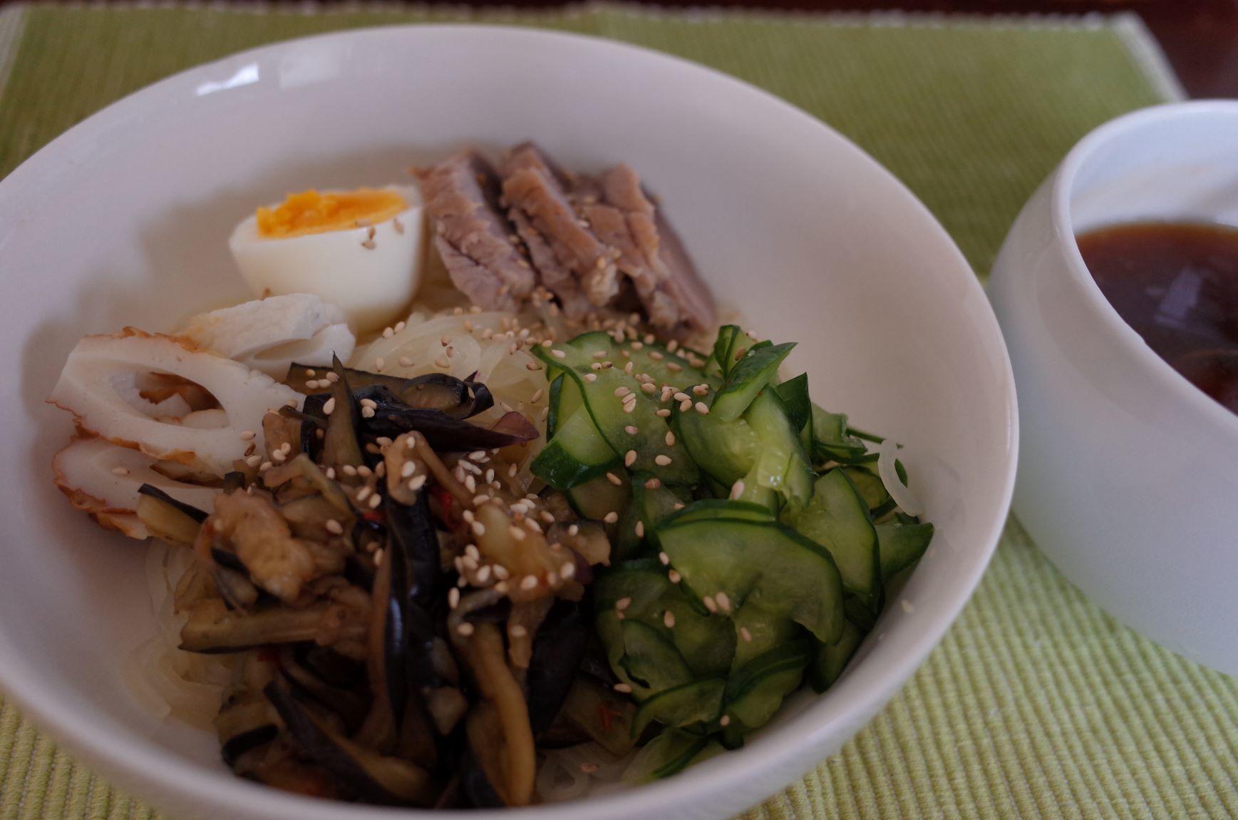 エア外食(盛岡冷麺)_d0389370_22294345.jpg