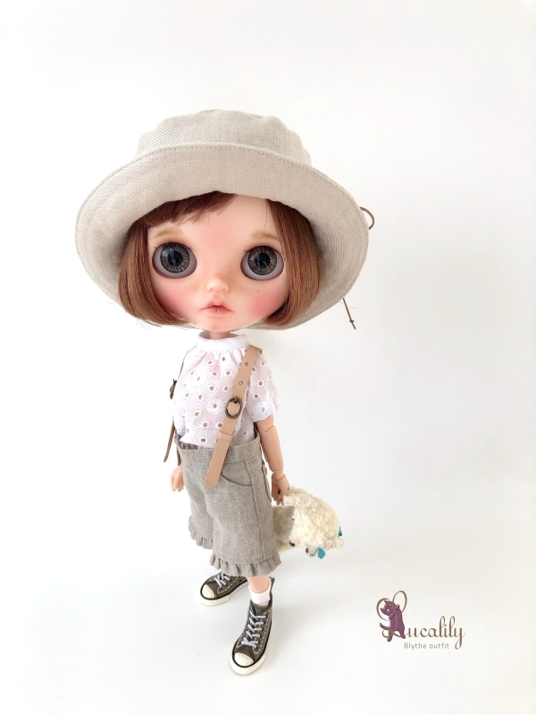 *lucalily * dolls clothes * Denim blouson set *_d0217189_14120962.jpg