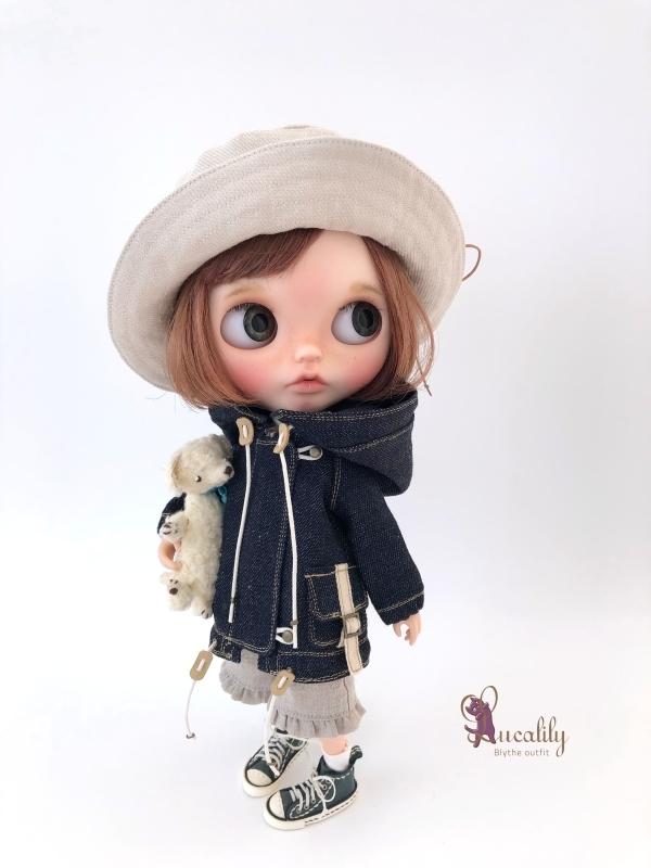 *lucalily * dolls clothes * Denim blouson set *_d0217189_14121533.jpg