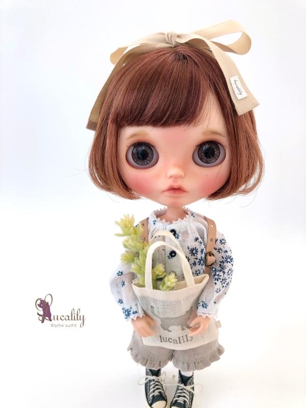 *lucalily * dolls clothes * Denim blouson set *_d0217189_14122105.jpg
