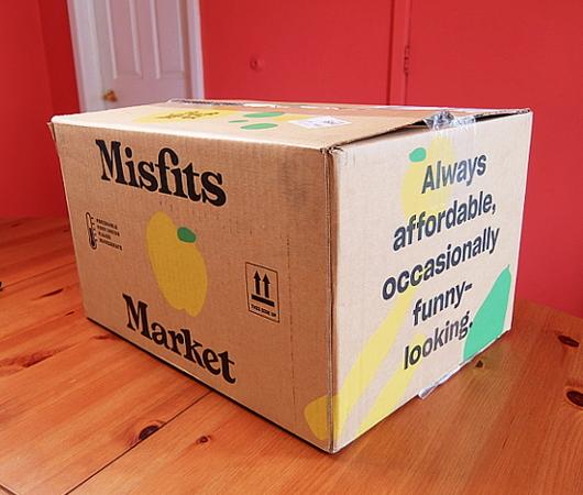 今、米国で注目のフード・デリバリー・サービス、Misfits Market Mischief Boxを試してみました_b0007805_07372410.jpg