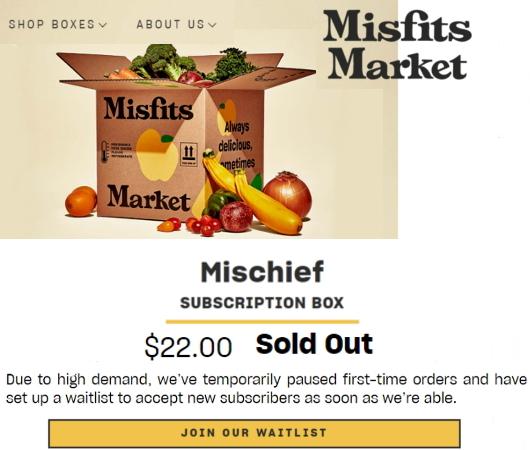 今、米国で注目のフード・デリバリー・サービス、Misfits Market Mischief Boxを試してみました_b0007805_07460023.jpg