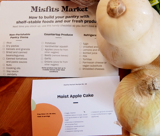 今、米国で注目のフード・デリバリー・サービス、Misfits Market Mischief Boxを試してみました_b0007805_07541995.jpg