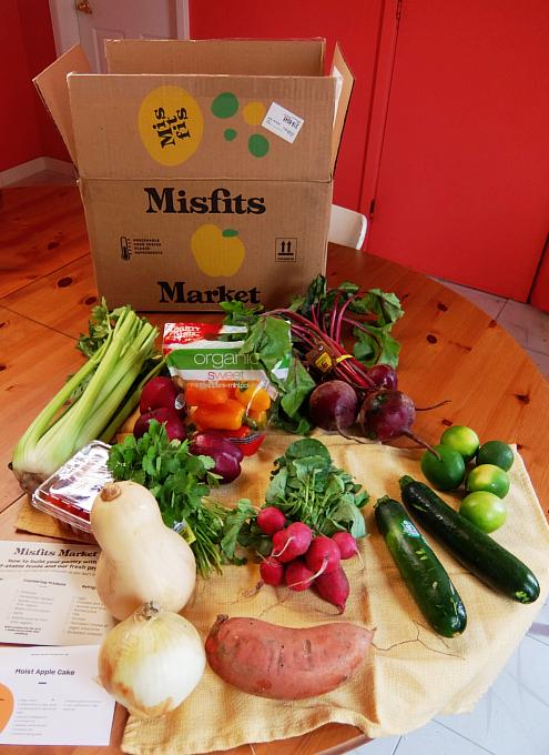 今、米国で注目のフード・デリバリー・サービス、Misfits Market Mischief Boxを試してみました_b0007805_07582501.jpg