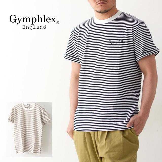 Gymphlex [ジムフレックス]M COMBED COTTON JERSEY TEE BORDER [J-1155CH]・ボーダーTシャツ・ MEN\'S_f0051306_17370883.jpg