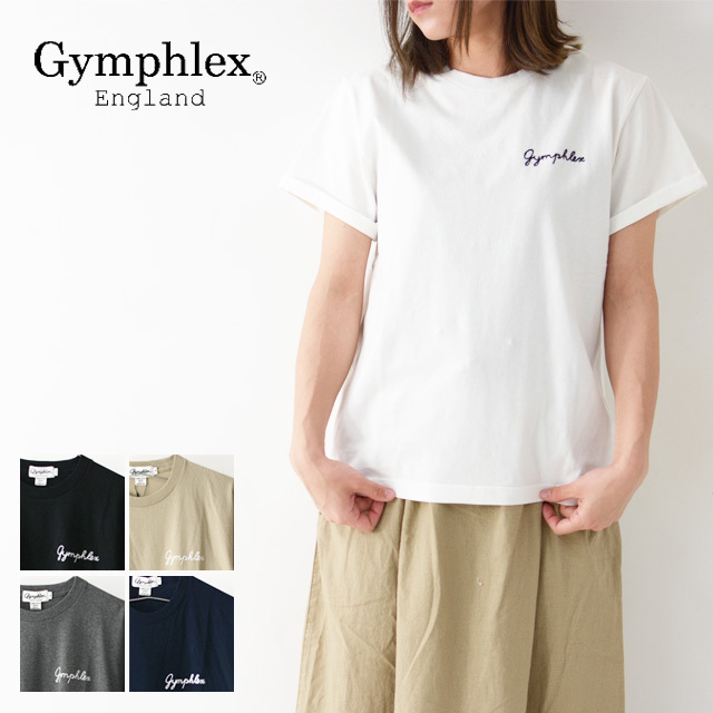 Gymphlex [ジムフレックス] W COMBED COTTON JERSEY TEE SOLID [J-1155CH] クルーネック Tシャツ・ LADY\'S_f0051306_17444514.jpg