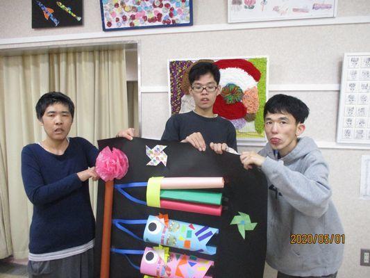 5/1 創作活動_a0154110_13345788.jpg