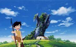 未来少年コナン 第1話「のこされ島」_e0080345_06275912.jpg