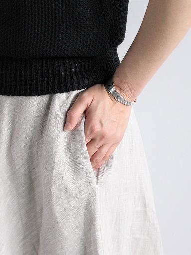Worker's Nobility Circle skirt / Rustic 100% linen_b0139281_12102115.jpg