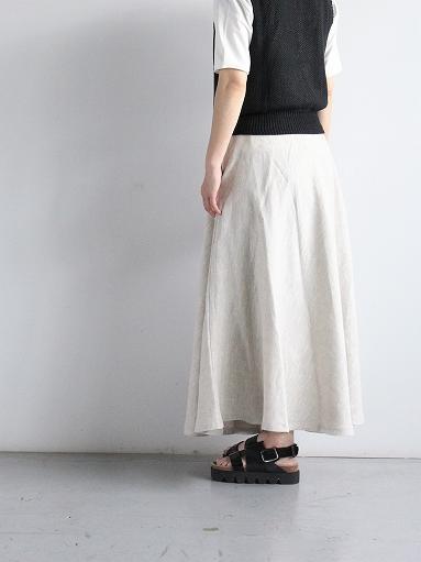 Worker's Nobility Circle skirt / Rustic 100% linen_b0139281_1210394.jpg