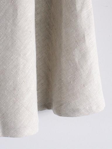 Worker's Nobility Circle skirt / Rustic 100% linen_b0139281_129493.jpg
